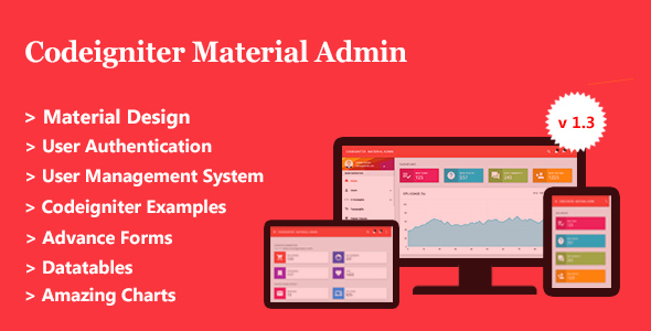 Codeigniter Self-discipline subject Admin + User Management Plot – Download