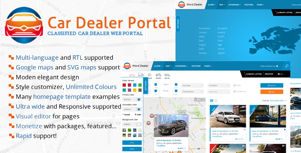 Automobile Dealer Listings Directory – Download