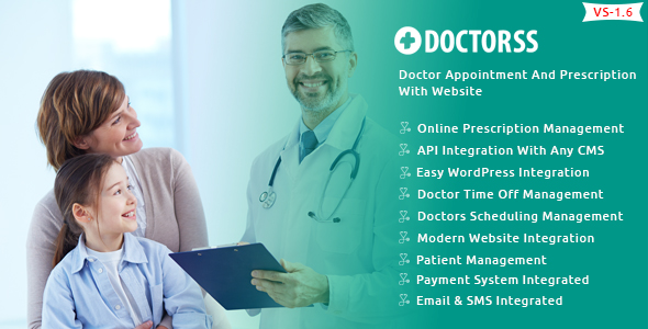 Doctorss – Doctor Appointment and Prescription Design with Net explain – Download