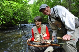 Gatlinburg Fly Fishing, Gatlinburg Trout Fishing Guides, Fly Fishing Pigeon Forge, Sevierville Tennessee, Fishing the Great Smoky Mountains National Park