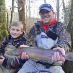 Cherokee, Fly Fishing, Trophy Rainbow Trout, Great Smoky Mountains