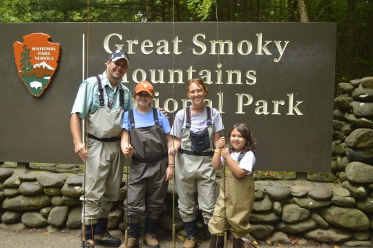 Great Smoky Mountains National Park Fly Fishing Guides, Fly Fishing Guides in the Great Smoky Mountains near Gatlinburg Pigeon Forge and Sevierville