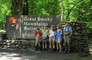 Fly Fshing, Great Smoky Mountains National Park,