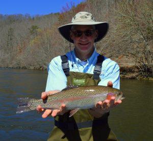 Smoky mountain fly fishing report top smokies guides for Gatlinburg trout fishing