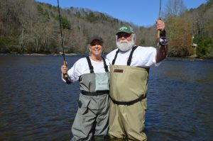 Paula Deen Fly Fishing in the Smoky Mountains, Fly Fishing the Smokies,