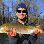 Winter Fly Fishing the Smokies, Raven Fork Rainbow Trout, Fly Fishing the Smokies, Fly Fishing Guides in Cherokee North Carolina