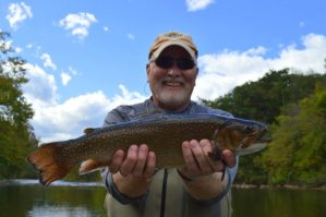 Fly Fishing the Smokies, Tuckasegee River, Great Smoky Mountains Fishing Report 10/11/16,