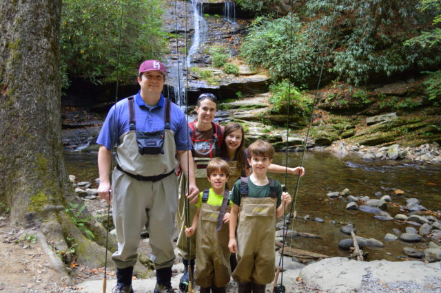 Great Smoky Mountains Fishing Report 10/08/16, Fly Fishing the Smokies,