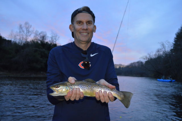 Fly Fishing Guides Tuckasegee River Trout Fishing