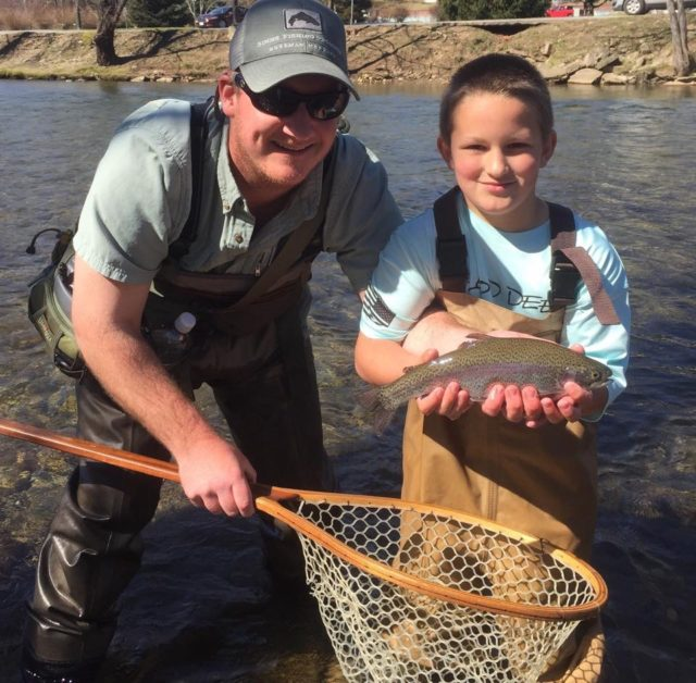 Jared Silver, Fly Fishing the Smokies Guides,