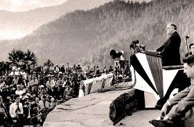Park Dedication Ceremony at Newfound Gap September 2nd, 1940