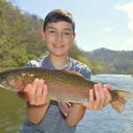 Cherokee, Trophy Trout, Rainbow Trout,,Brook Haven Fly Fishing, Brook Haven Fly Fishing Private Water, Fly Fishing the Smokies