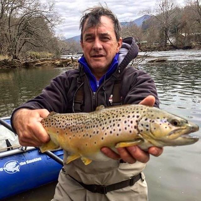 Winter Fly Fishing Smoky Mountains, Winter Fishing Tuckasegee River Gatlinburg Bryson City Pigeon Forge Highlads Waynesville Maggie Valley
