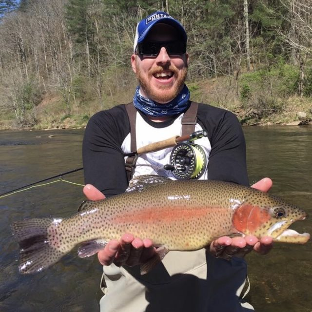 Great Smoky Mountains Fishing Report April 11th, Fly Fishing the Smokies,