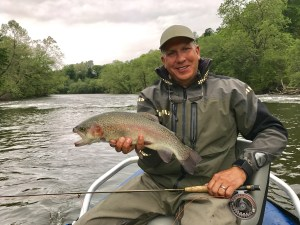 Fly Fishing Guides Highlands NC, Tuckasegee River Fly Fishing Report May 5th
