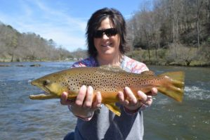Tuckasegee River Fishing report April, Fly Fishing the Smokies, Tuckasegee River Fly Fishing Guides