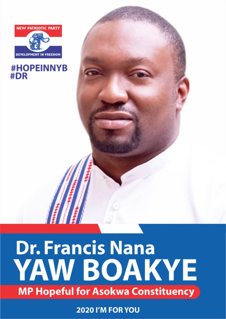 NPP Primaries: 2 Contest For Asokwa Constituency But Dr Nana Yaw Boakye tipped to Win