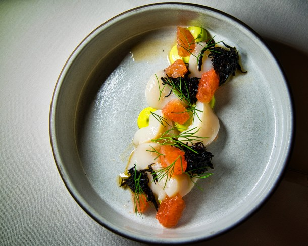 Scallop Crudo at Talulla