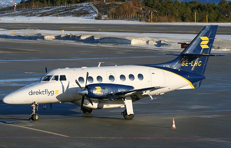 KSU_Direktflyg_BAe_Jetstream_32