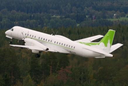 Sverigeflyg SAAB 2000