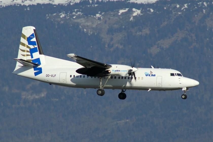 VLM_Airlines_Fokker_50_OO-VLF
