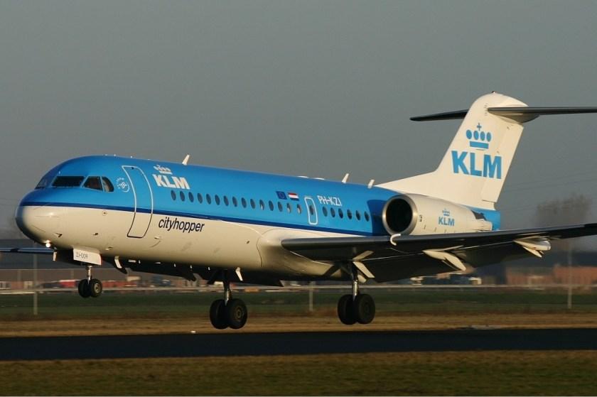 KLM_CityHopper_Fokker_70_Menten