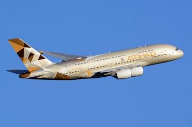 Etihad Airways Airbus A380. (Foto: Wikimedia Commons)