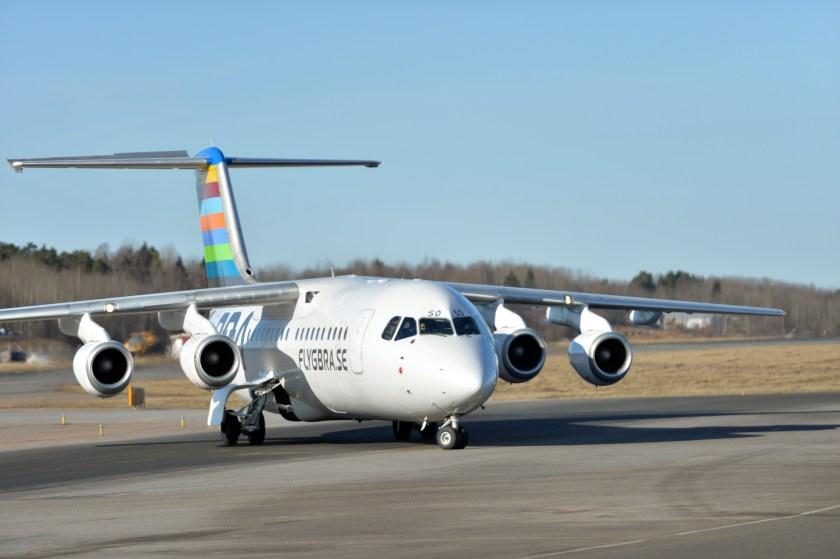 Flygplan AVRO RJ 100 3 160229_0