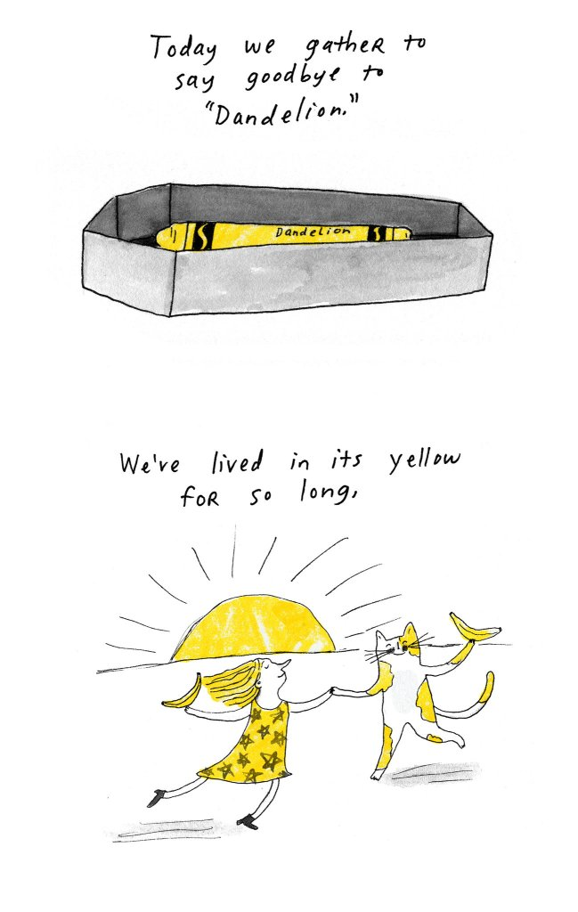 A Eulogy for Crayola's Dandelion