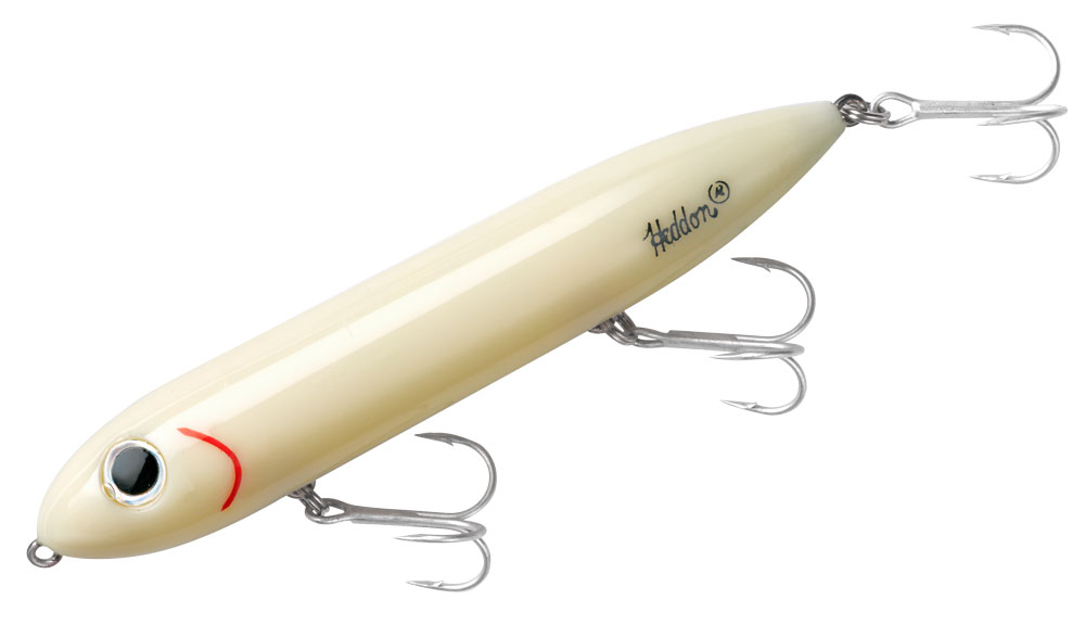 Heddon Super Spook topwater striped bass lure