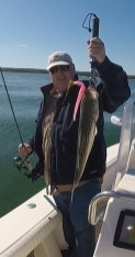 Martha's Vineyard Striped Bass in the rips