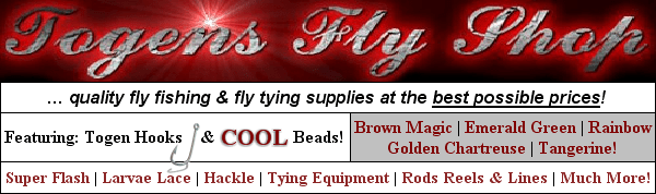 ... quality fly tying material & equipment at the best price!