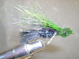 Disco Cactus Muddler Fly Pattern .. stayin alive ... stayin alive ...