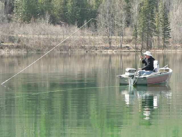 Best fly fishing boats for the trophy still water lakes of for Best fly fishing