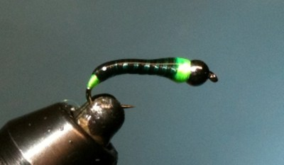 Hot Spot Chironomid Pupa Fly ... now that's one HOT chironomid!