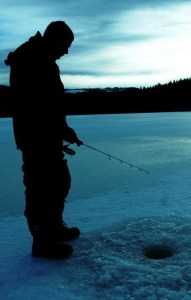 Ice Fishing Safety Tips & Equipment - ice fishing beautiful British Columbia
