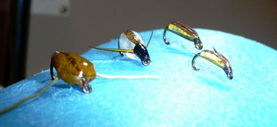... fly fishing water boatman spring & fall!