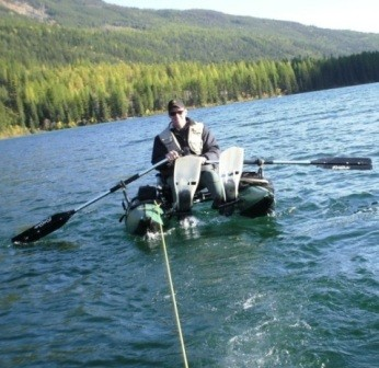 A Wonderful Whitetail Lake Fishing Vacation ... rescue