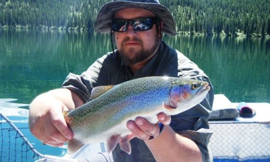 Palace in the Sky - BC Alpine Fly Fishing Report 2016 - Alpine Rainbow Trout