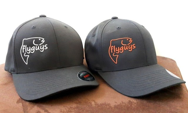 flyguys flexfit fishing hats