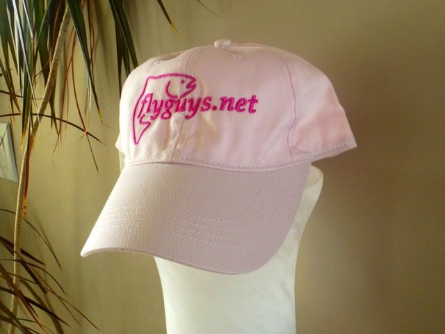 flyguys pretty in pink fishing hats
