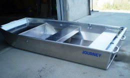 "Journey Boats (9'6"") - Flat Bottom Jon Fly Fishing Boat"