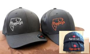 flyguys Fishing Hats - Flexfit Front & Back