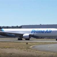 PRIME AIR B767 HAS CRASHED INTO TRINITY BAY NEAR HOUSTON BUSH AIRPORT
