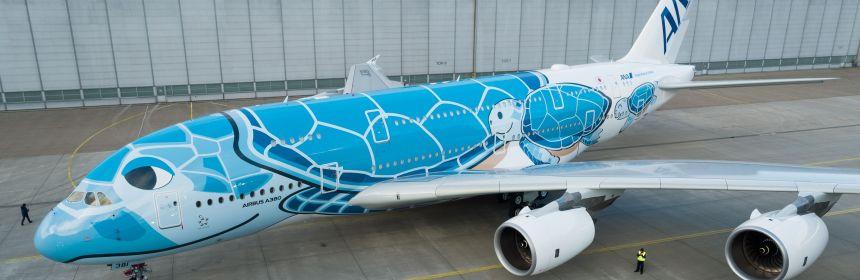 ANA A380 Turtle Livery