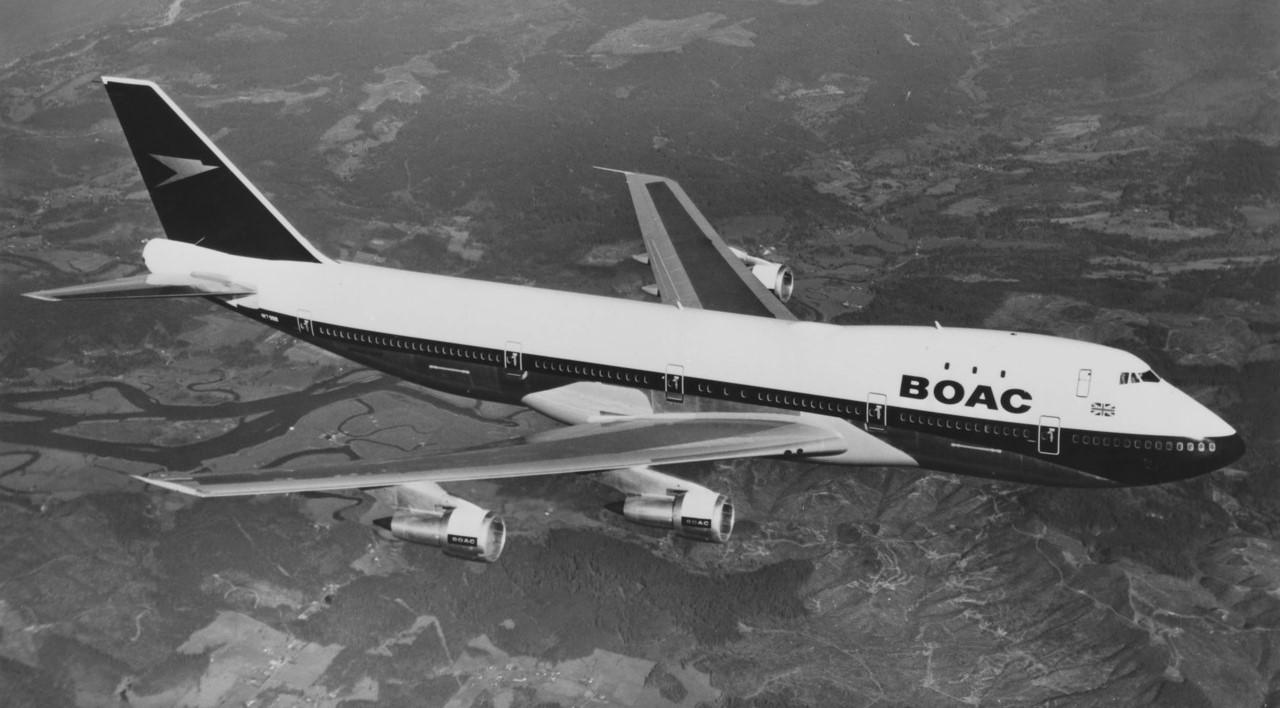 BOAC Boeing 744