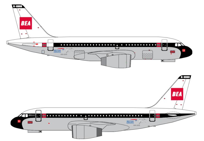 BA retro livery