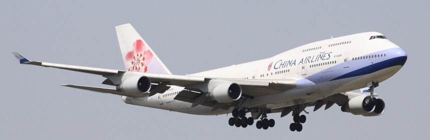 China Airlines B747-400