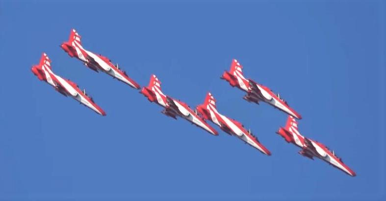 Indian AF Suriya Kiran Aerobatic Team