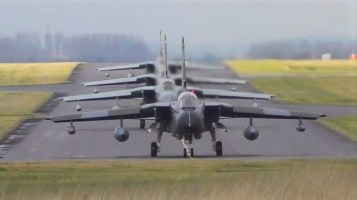 RAF Tornado photoshoot